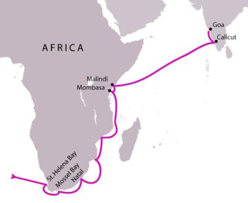 Da Gama's voyage to India