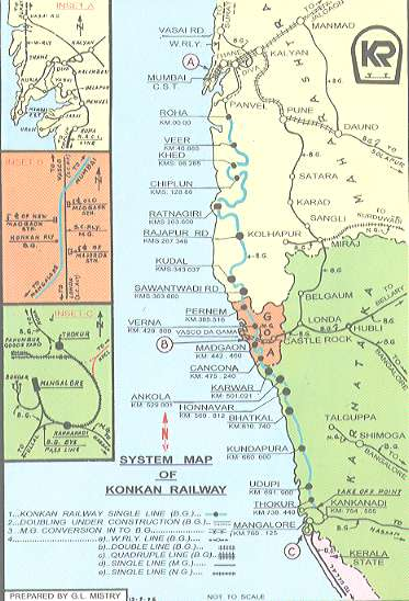 Konkan Coast On Rails The Long Hol