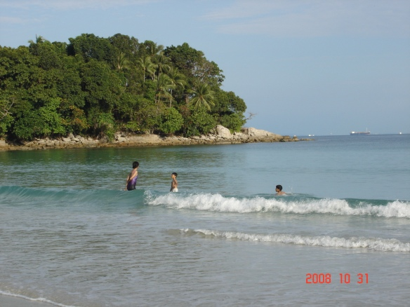 Beach at Mayang Sari resort