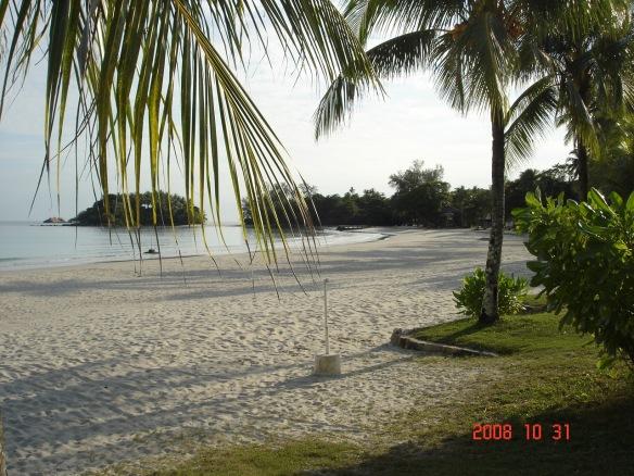 Beach at Bintan