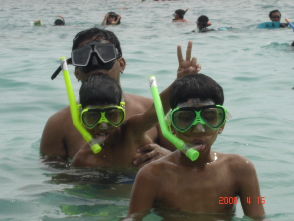 Snorkelling in Phi Phi Islands